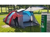 4 Berth XL Family Air Tent.Only used once immaculate condition .