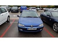 Blue Peugeot 106 XL Independence, CHEAP need gone Friday!