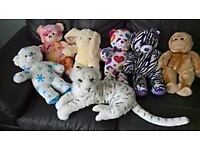 Soft toys,mainly build a bear