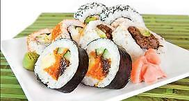 Japanese Sushi with Delicious Entree