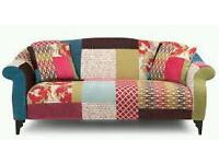 shout dfs sofa, high back chair,footstool