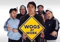 Wogs at work tickets