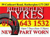 "PART WORN TYRES GOOD TREADS PRESSURE TESTED 13""to22"" Southside, Glasgow"