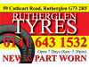 """PART WORN TYRES GOOD TREADS PRESSURE TESTED 13""""to22"""" SUPPLY & FITTED Glasgow"""