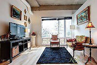 Close Downtown fully furnished big 51/2 in two floors