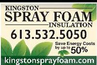 Kingston Spray Foam Insulation