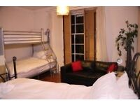 Large family room available for August - sleeps 4