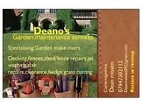 Garden cost-effective services