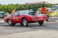 1984 Firebird 461 cuin. 550 hp pump gas racecar