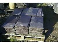 7,400 slates big slates Bangor Blue tiles reclaimed