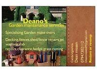 Garden maintenance services🏡🛠🌲⚘♻