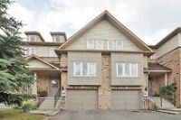 Beautiful Nort Whitby Condo Townhome
