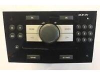 Vauxhall zafira original car stereo 2010 cd30 MP3
