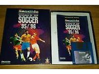 Amiga 500 Classic Game-Sensible World Of Soccer 95/96