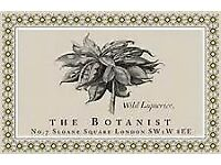 Lounge Waiter/Waitress - The Botanist Sloane Square - New Opening