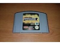 WANTED N64 GAMES