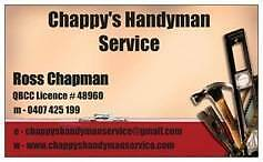 Chappy's Handyman Srevice Wishart Brisbane South East Preview