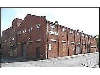 700sq ft space ideal for warehouse, storage, office creative space, music bands, or church group.