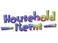 All household items needed.....