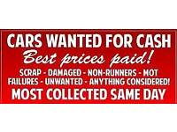 Wanted ANY Car! ANY condition