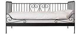 Ikea single metal frame day bed