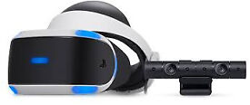 PS VR + PS camera (mint condition)