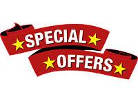 *ONLY* £195 (4 NIGHTS ) MAY/JUNE CARAVAN FOR HIRE CRAIG TARA AYR SCOTLAND