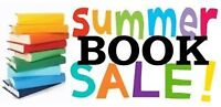 Summer Book Sale Starts August 22nd ! ! !