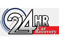 Cheap 24hr Car Recovery Service Car, Motorbike and Van Breakdown Jump Start
