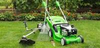Lawn Mowing= Bulk Garbage Pick-Up and Truck Services