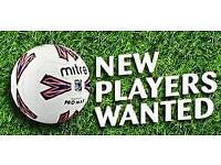 Sunday team looking for new players