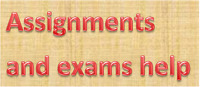 Help in assignments and assessments