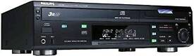 Philips CDR800 3-CD Integrated CD Recorder/Player, with MP3 CD Playback, 90-Track Programming