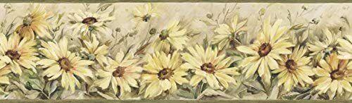 Field of Sunflowers Wallpaper Border CCB2231