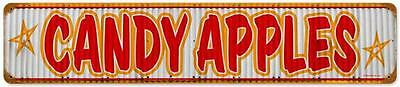 Vintage Retro County Fair Candy Apple Store Metal Sign Unique Wall Decor RPC098](Retro Candy Store)