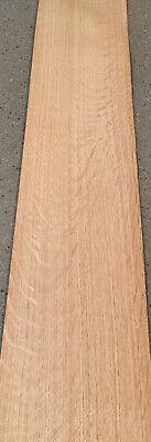 White Oak Wood Veneer - Heavy Flake 6 Sheets 39 X 7.5 12 Sq Ft