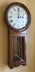 ANTIQUE 1886 SETH THOMAS WABASH Railroad #2 WALL CLOCK