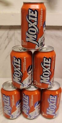 Moxie REGULAR Soda 12 oz 6 PK cans-FREE SHIPPING $13.99-Best price NEVER $19.99