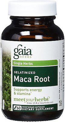 Maca Root  Gaia Herbs  60 Capsule