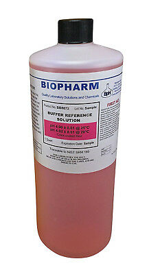 Biopharm pH Calibration Solution 1 Quart pH 4 Buffer NIST Traceable  (4 Ph Buffer Solution)