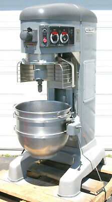 Hobart Hl600 Legacy Commercial Bakery Mixer 60 Qt. With Bowl And Guard