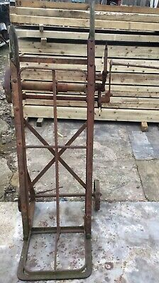 Vintage Reclaimed Agricultural Cooks of Yaxley, Peterborough Sack Lifter Barrow