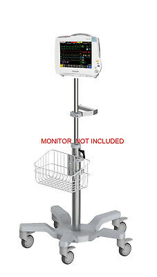 Rolling stand for Philips IntelliVue MP30/mp40/mp50/mp60/mp70 monitor(big wheel)