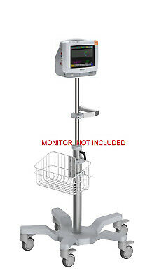 Rolling stand for Philips IntelliVue MP5  patient monitor new (big wheel)