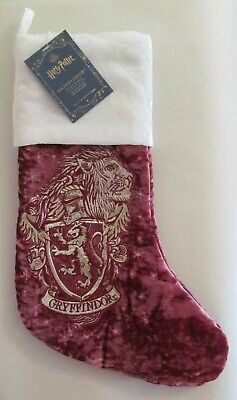 Pottery Barn Teen Harry Potter GRYFFINDOR Christmas Stocking ~No Monogram~ NEW