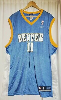 Reebok NBA Earl Boykins Denver Nuggets #11Jersey, Basketball. Large, big & tall