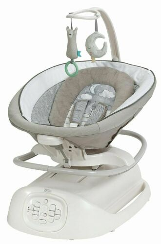 Graco Baby Sense2Soothe Swing with Cry Detection Rocker Soother NEW