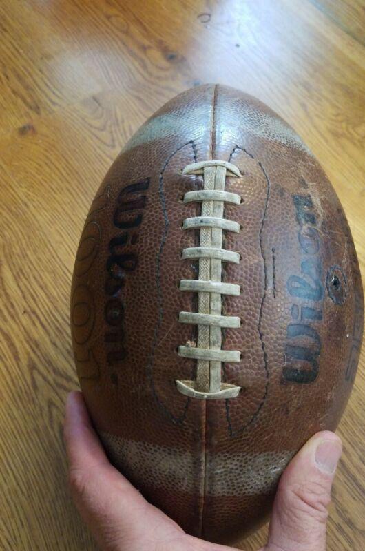 Vintage Wilson 1001 AFCRT Leather Football