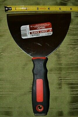 6 Joint Knife With Cushioned Handle - Drywall Taping - Compound - Olympia Iwork