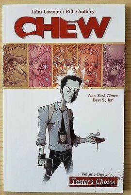 Chew Volume 1   Tasters Choice   Layman Guillory    Image Comics Tpb